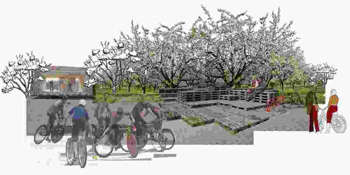 Albertslund Cycle by Haiku van Keuk.