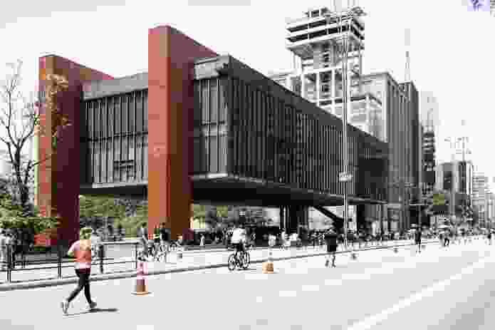 São Paulo Museum of Art by Lina Bo Bardi.