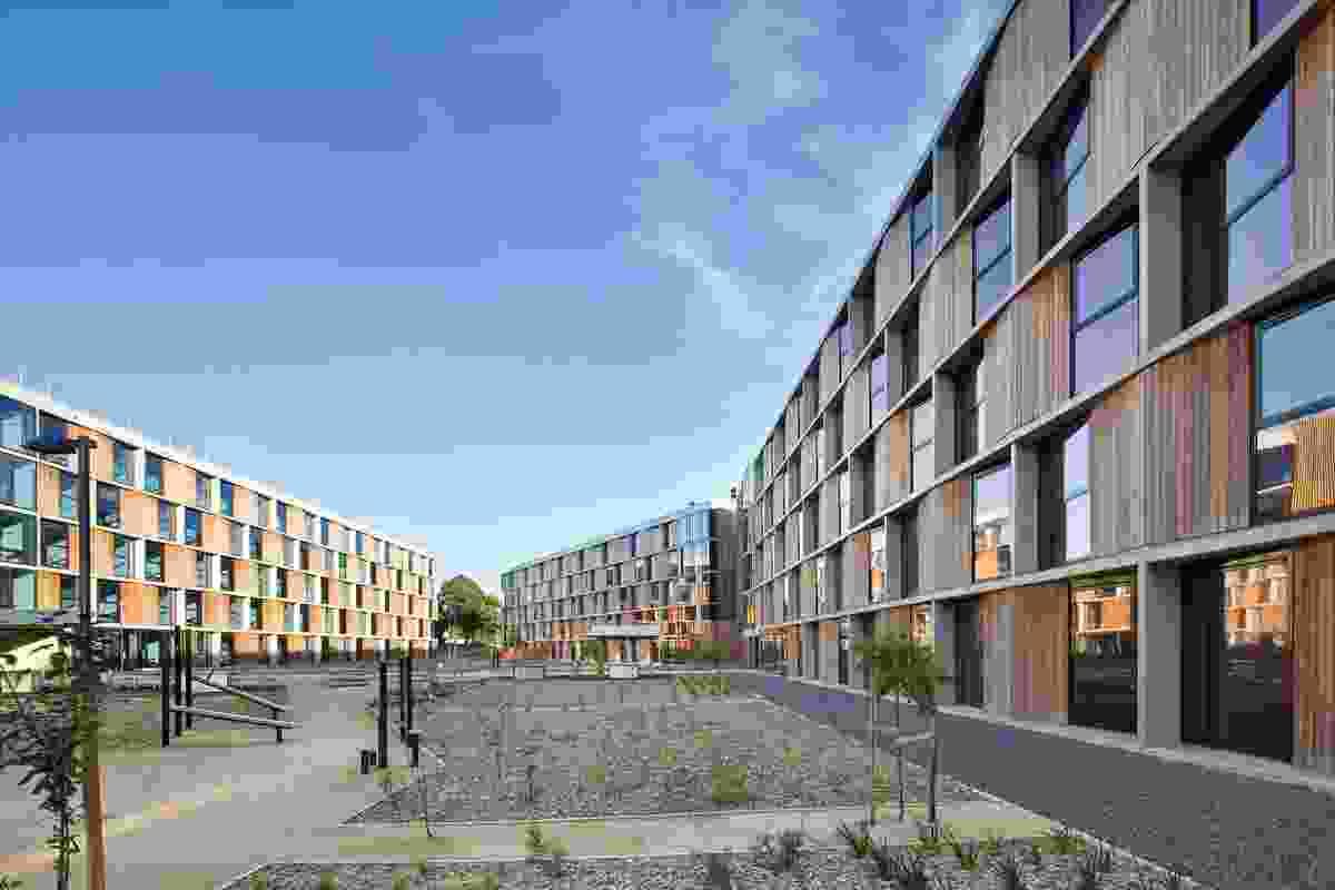 Monash University Student Housing, Clayton by BVN Architecture.