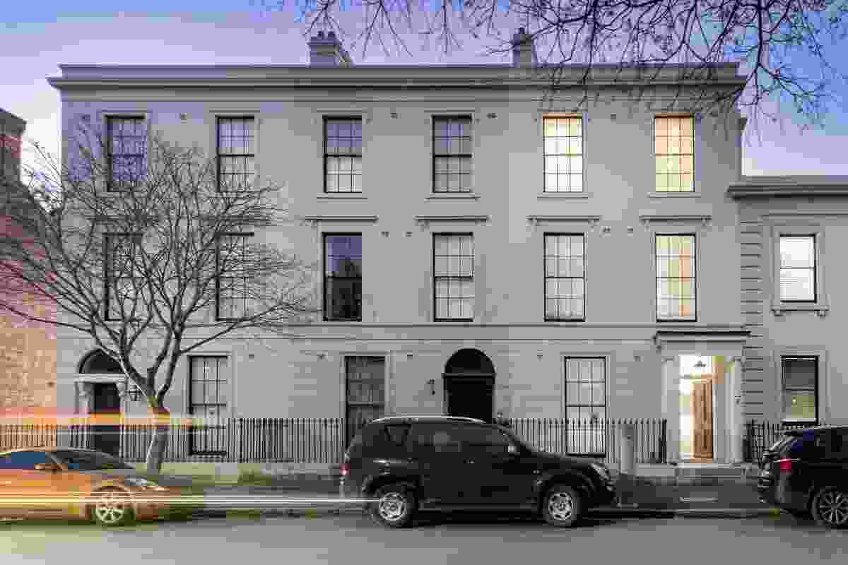 57 Lower Fort Street- Regency Townhouse by Tropman and Tropman Architects (Tasman Storey - Design Principal).