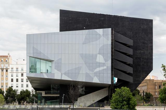 Caixaforum cultural and exhibition centre by Estudio Carme Pinós.