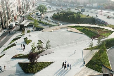 Sishane Park, 2014, in Istanbul, Turkey designed by SANALarc.