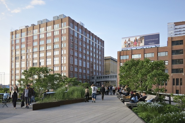 The High Line by Diller Scofidio + Renfro and James Corner Field Operations.