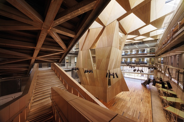 The University Of Melbourne - Melbourne School Of Design by John Wardle Architects And NADAAA In Collaboration.