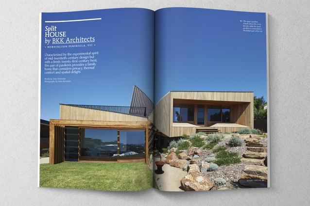 Split House by BKK Architects.