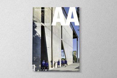 Architecture Australia July/August 2016.