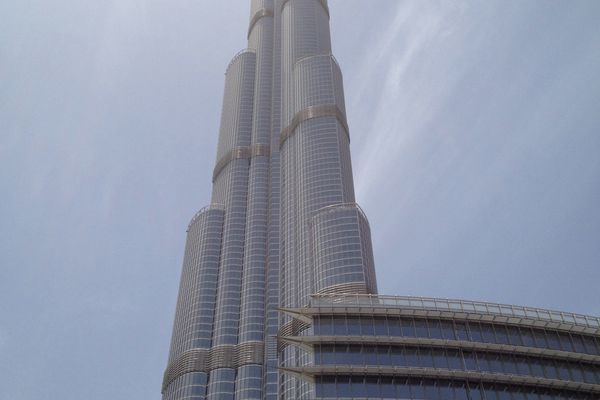 Dubai's improbable Burj Khalifa.