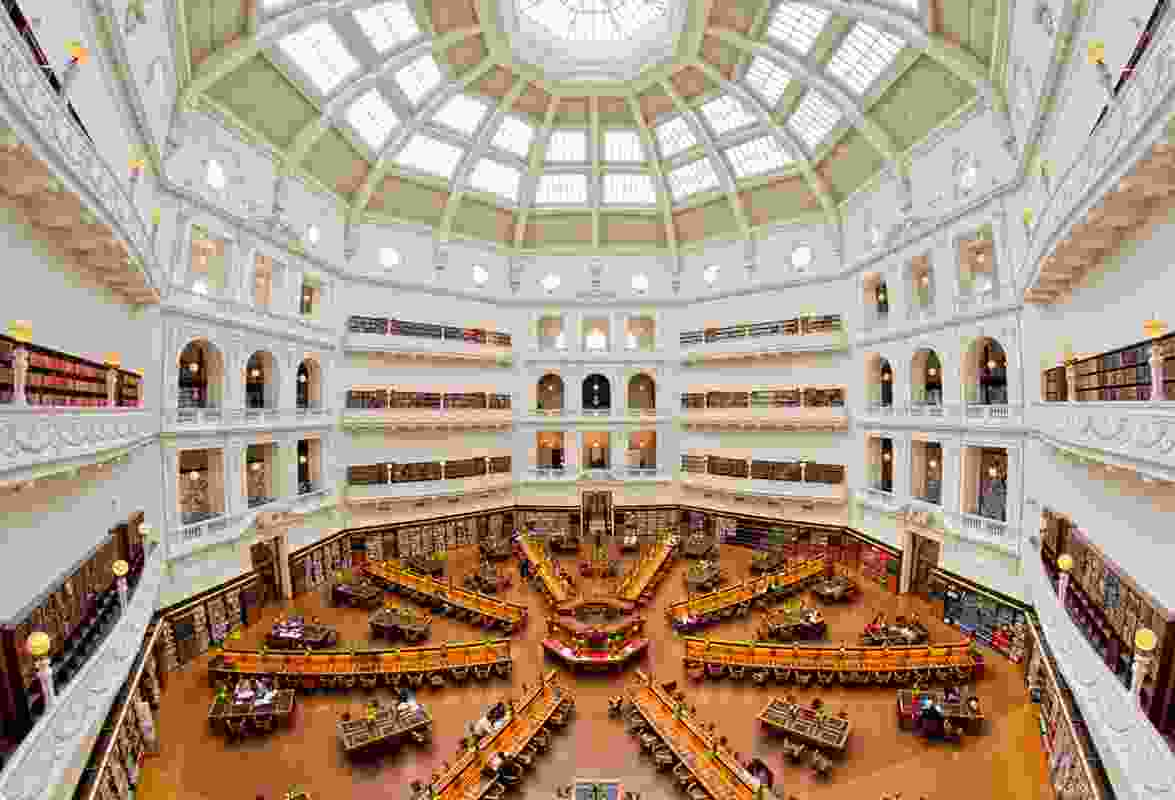 State Library interior.