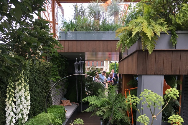 City Living designed by Kate Gould – attractive and usable small urban apartment gardens.