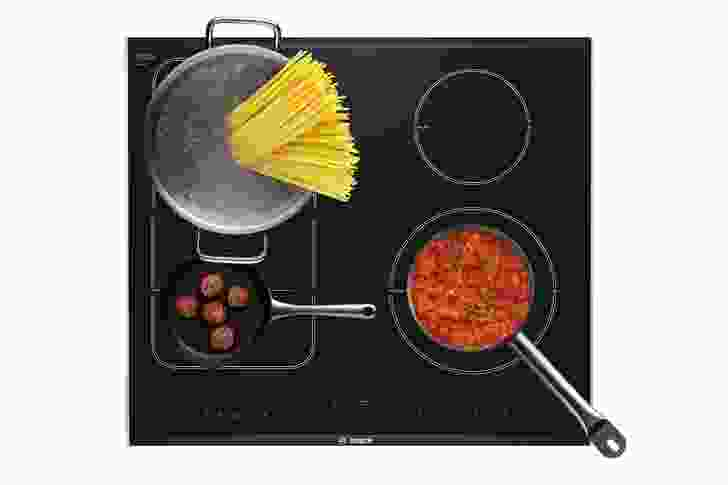 FlexInduction cooktop from Bosch.