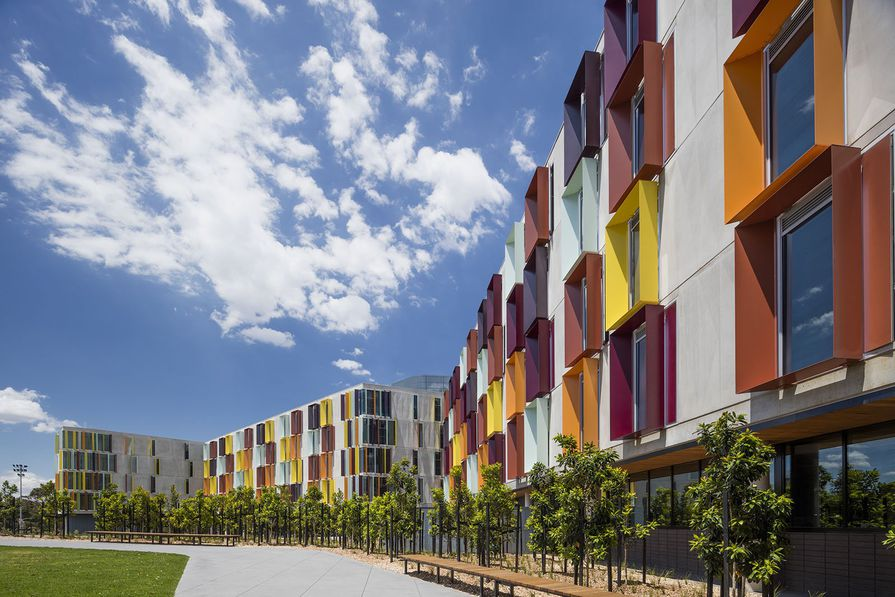 Turner Building at Monash University's Clayton campus, by Jackson Clements Burrows.