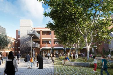 The Collingwood Arts Precinct, designed by Fieldwork with Simone Bliss Landscape Architecture.