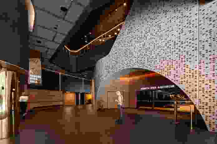 The main foyer of the Ian Potter Southbank Centre by John Wardle Architects.