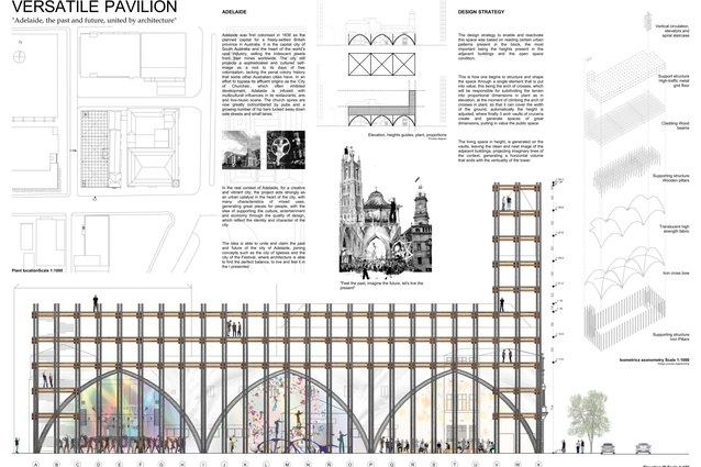 Versatile Pavilion by Banny Fabian Sandoval Salinas.