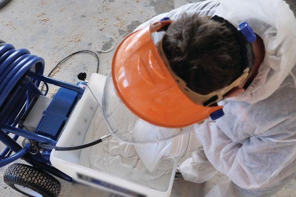 USG Boral's Sheetrock Dust Control system.