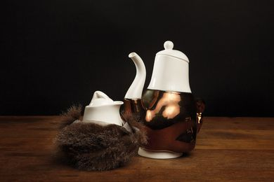 Briggs Family Tea Service by Trent Jansen, limited edition of five.