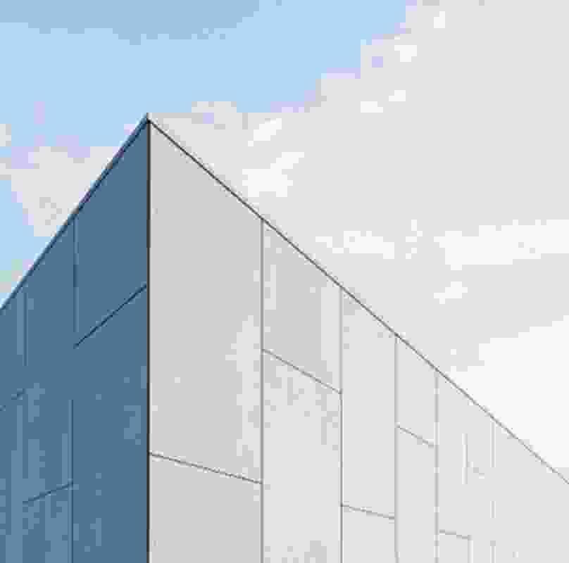 Exotec Vero concrete-look panels from James Hardie.