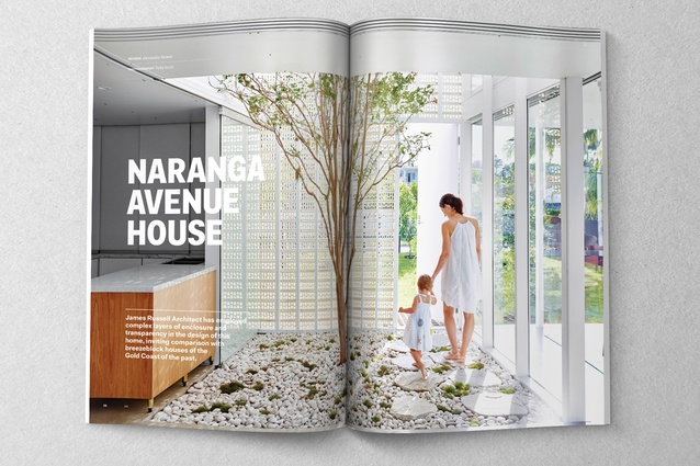 Naranga Avenue House designed by James Russell Architect.